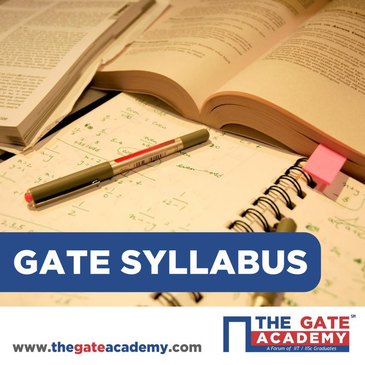 Planning on appearing for GATE? The first thing to do is to study the GATE syllabus for your chosen GATE paper. You can apply for only one of the 21 GATE papers listed below. Click on your chosen subject to get the detailed GATE syllabus for your chosen paper.
