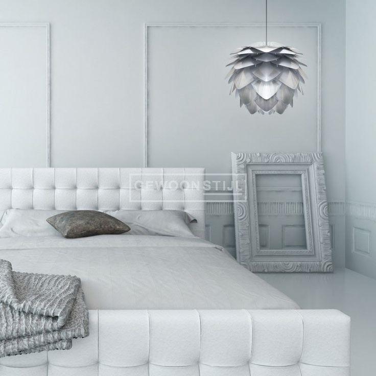 Silvia hanglamp silver zilver #verlichting #Vita #Silvia