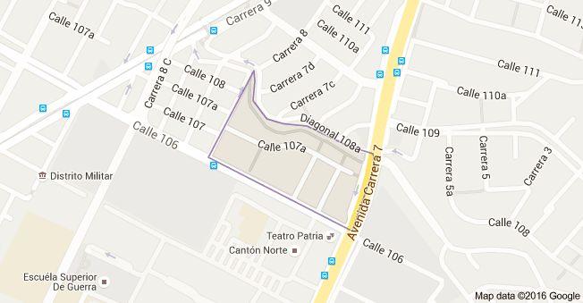 Mapa de Santa Ana Bogotá, Bogotá, Colombia.  Me hospede en el sector de santa ana el cual es muy seguro y bonito, este sector preserva la naturaleza.