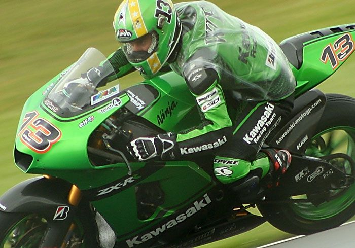 Anthony West @ Donington 2007   Kawasaki ZXRR