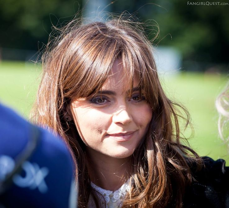 Jenna Coleman in Cardiff, Wales, August 2013.