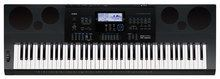 Casio - Portable Workstation Keyboard with 76 Piano-Style Touch-Sensitive Keys - Black, CAS WK6600