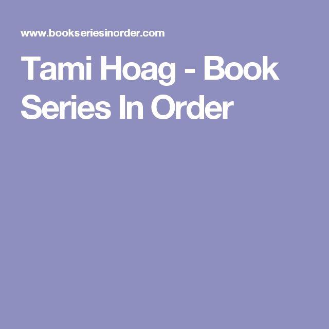 Tami Hoag - Book Series In Order