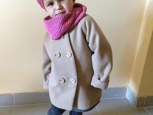 Мастер-класс по пошиву детского двубортного пальто - Ярмарка Мастеров - ручная работа, handmade