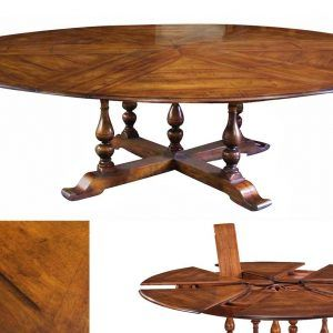 Round Table That Expands To Seat 10