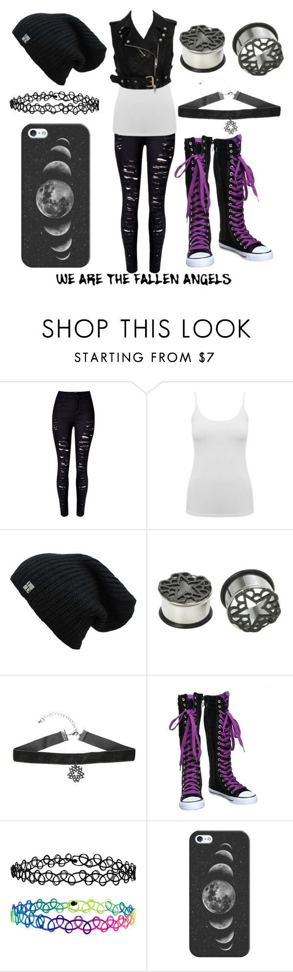"""""""Black Veil Brides"""" by the-uninportant-emo ❤ liked on Polyvore featuring M&Co, Accessorize, Casetify and BVB"""