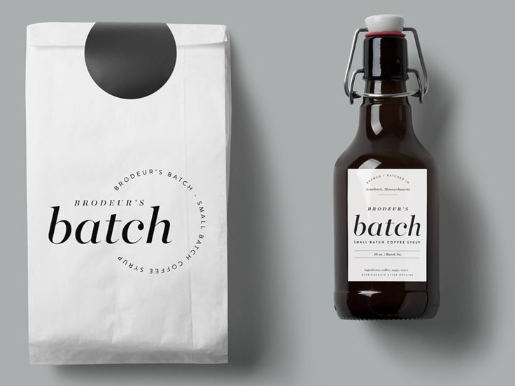 Coffee Syrup Packaging