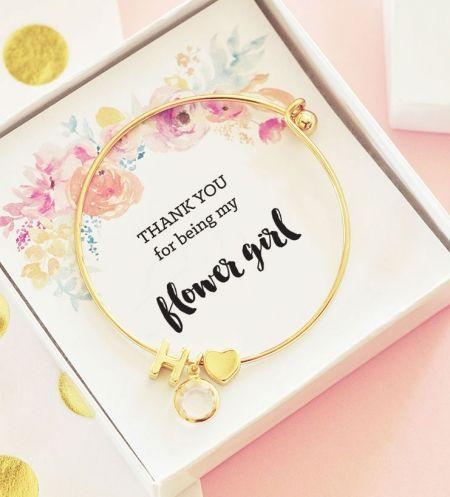 Flower Girl Bracelet | Gifts for Flower Girl Gift Ideas