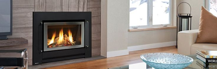 REGENCY GFI300L: Medium Gas Fireplace - Transform your old fireplace or blank wall into a modern efficient gas log fire. The Regency GFi300L combines modern styling with the efficiency of a realistic gas log fire. Tthe GFi300L will fit into most existing chimneys using a simple flexible flue installation or as a zero clearance unit into a timber framed wall. With amazing heat output, realistic driftwood log set and contemporary clean lines. #Heating #GasHeating #Inbuilt #Regency #HearthHouse