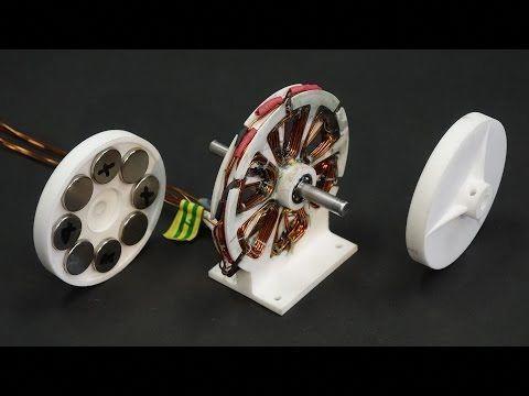 Cart Motor Axial flux Alternator - YouTube #3dprintingdiy | 3D