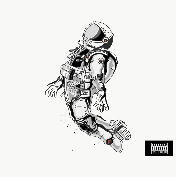 space man  flying  #mikeyjdotcom