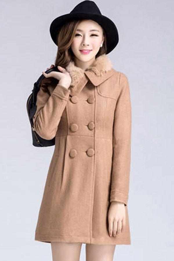 Clássico quente jaquetão - OASAP.com