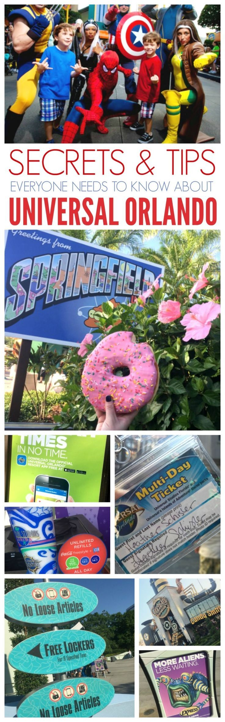 12 Universal Orlando Secrets & Tips for getting Free Express Passes, Free Lockers, Transportation, Shorter Lines, The Best Bargains on Food and more!
