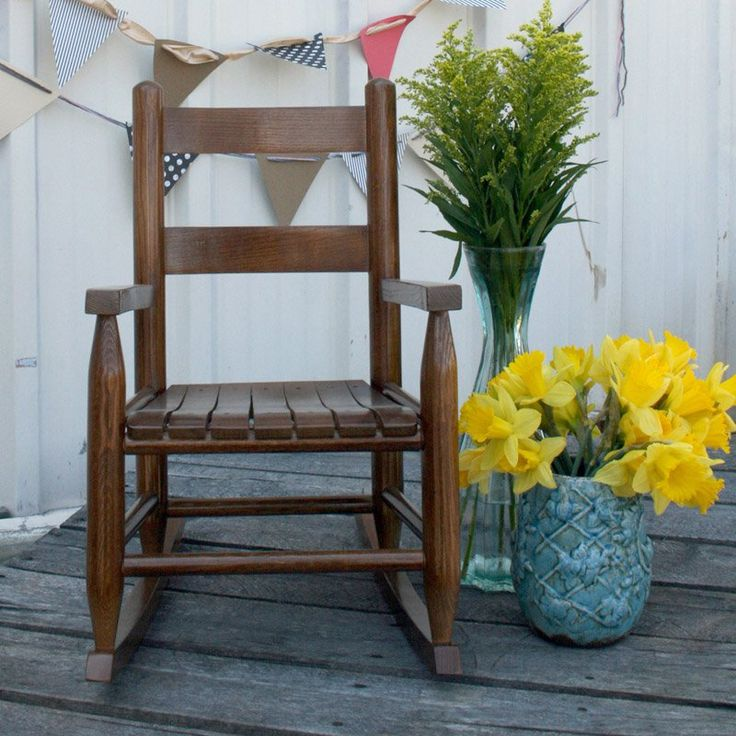 Dixie Seating Childs Indoor/Outdoor Rocking Chair - 25
