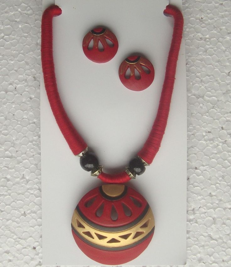 tribal terracotta jewelry sets wholesale supply