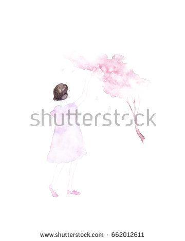 Beautiful young girl with flowers @Knysh Ksenya @knyshksenya