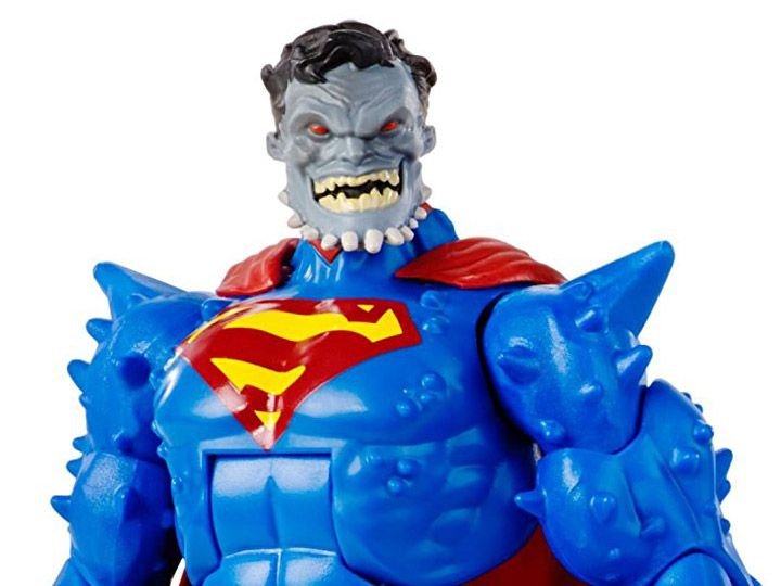 """#transformer dc comics 6"""" multiverse collect & connect wave 04 doomsday - superman: doomed"""