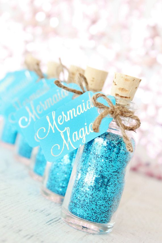Mermaid Party Favor - Mermaid Birthday Party - Mermaid Party Supplies - Mermaid Party - Mermaid Gift for Little Girls - Under the Sea Party