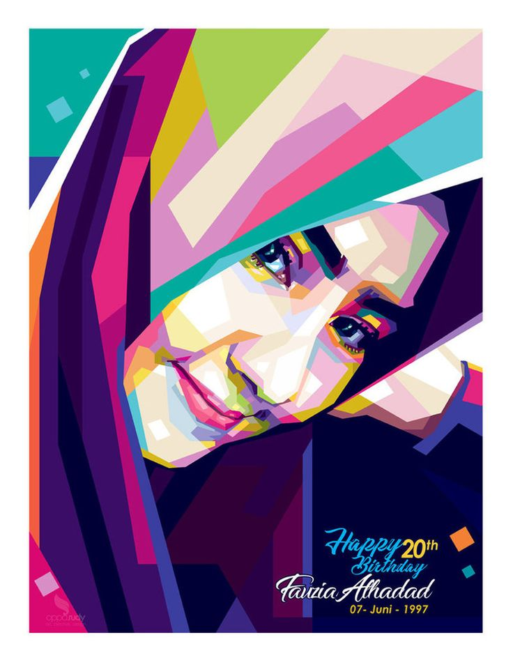 WPAP Hijab by. opparudy