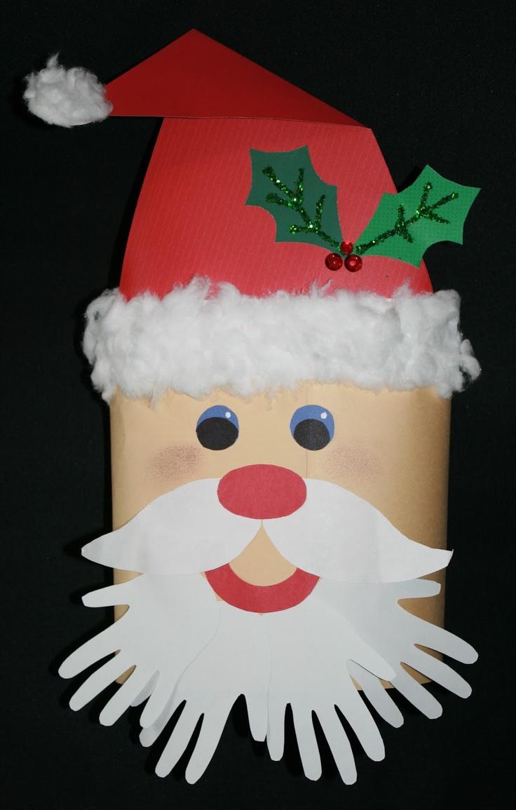 Classroom Freebies: Cylinder Santa