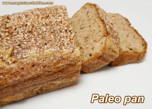Pan paleo, paleo pan de Elana