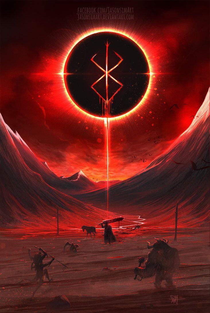 The Brand Of Sacrifice By Jasonsimart Dark Fantasy Art Berserk Anime Wallpaper