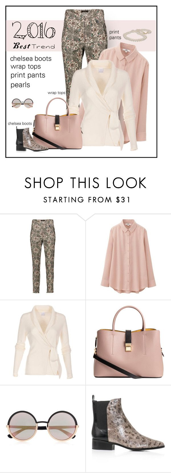 """""""Best Fashion Trends"""" by patricia-dimmick ❤ liked on Polyvore featuring Isabel Marant, Uniqlo, Marc by Marc Jacobs, 3.1 Phillip Lim, fashiontrends, 2016 and besttrend2016"""