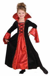 Girls Vampire Princess Costume - Kids Costumes