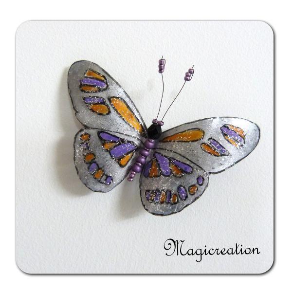 MAGNET PAPILLON APIS - Boutique www.magicreation.fr