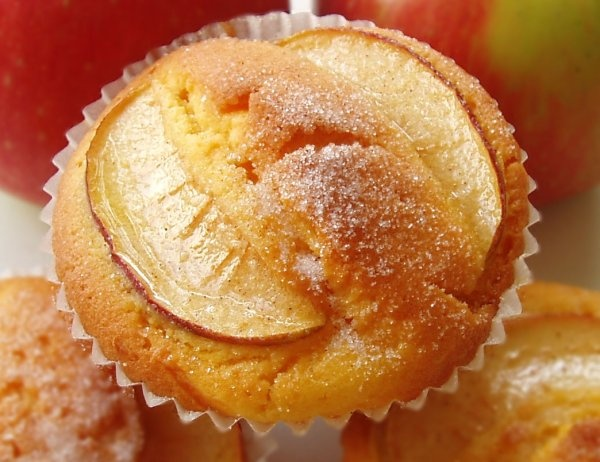 Apple Custard Cupcakes