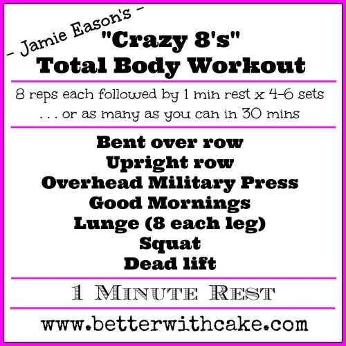Free Weights Total Body Workout: Best 25+ Jamie Eason Workout Ideas On Pinterest