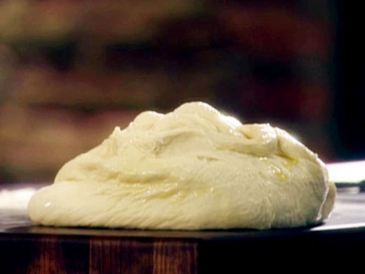 Fresh Pizza Dough recipe from Tyler Florence via Food Network