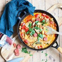 Korvgryta - recept på Foodfolder.