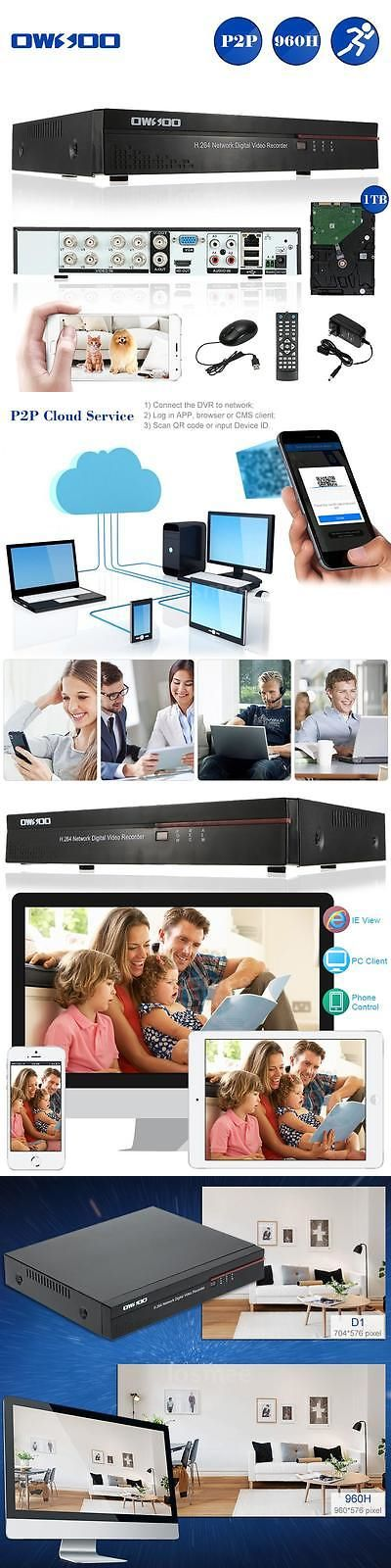 Digital Video Recorders Cards: Standalone 8Ch Channel 960H/D1 Hdmi Dvr Security System With 1Tb Hard Drive R3p4 BUY IT NOW ONLY: $96.24