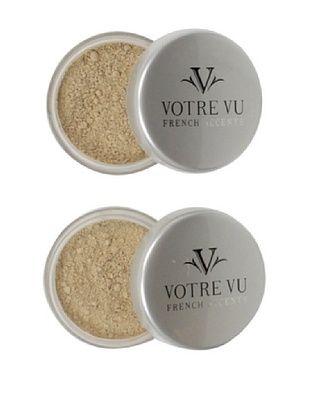 Votre Vu Belle Poudre HD Sheer Face Finish Powder, Light, 2-Pack