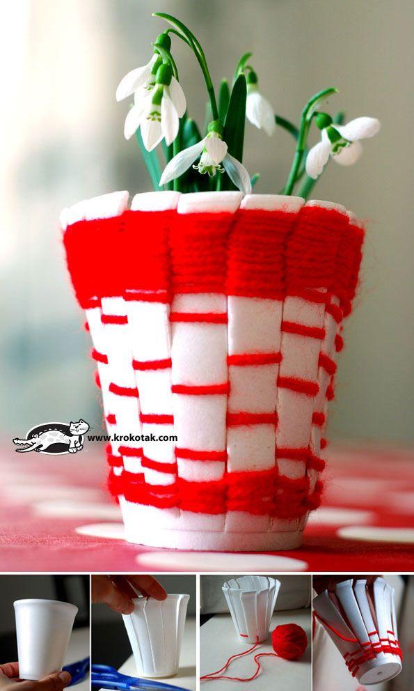 DIY We Kids Recycle Donu0027t throw the