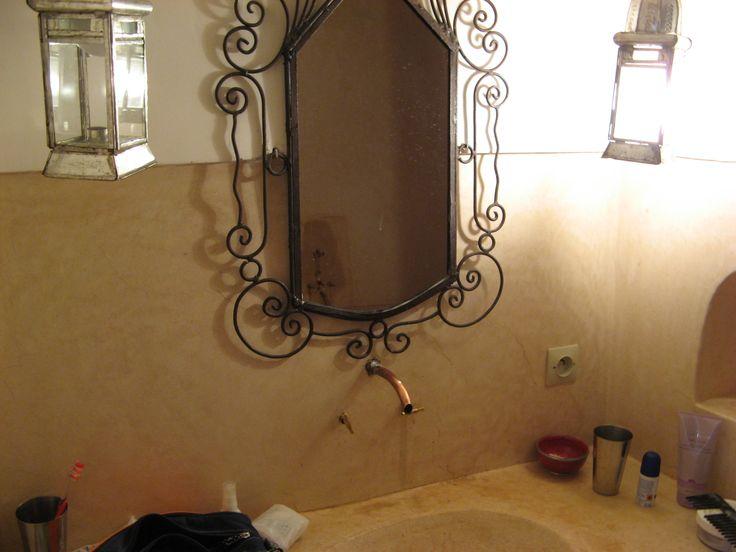 Our bathroom at Riad Dar Vima Marrakech