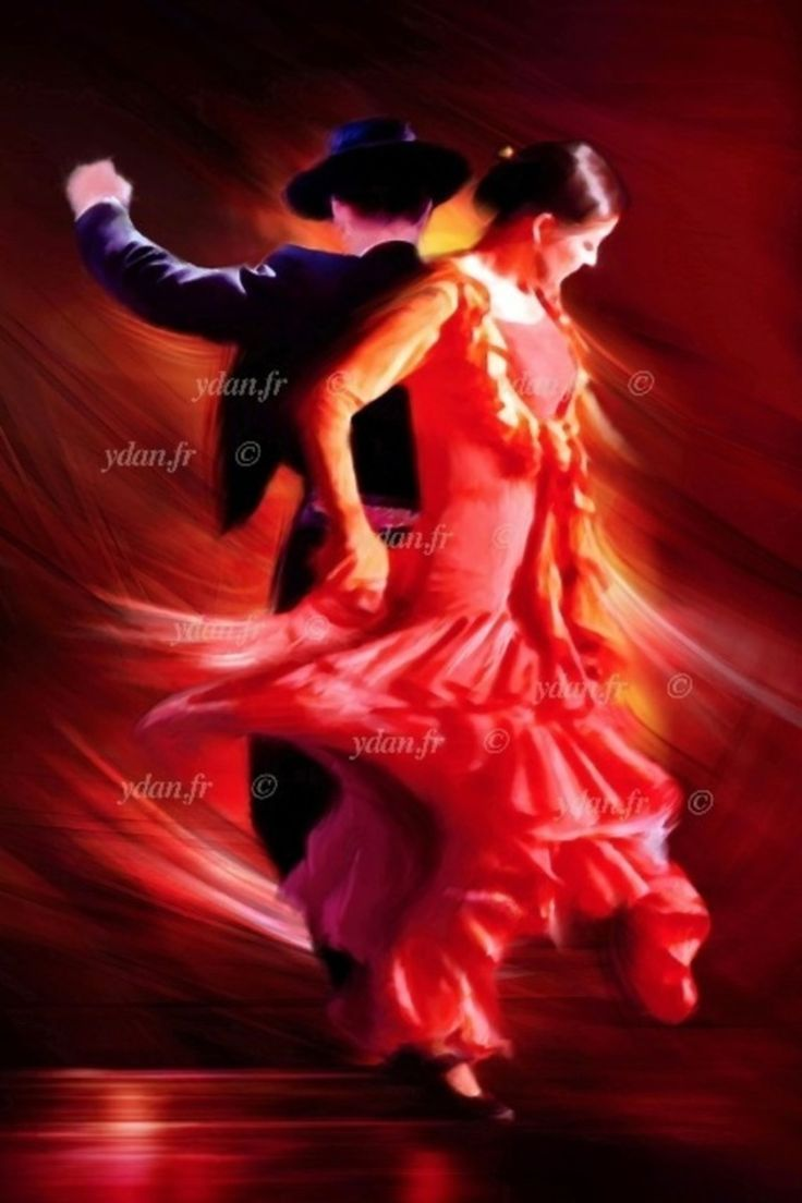 Painting Of A Couple Dancing Tango Yahoo Search Results Yahoo Image Search Results Flamenco Dancers Flamenco Dancers Art