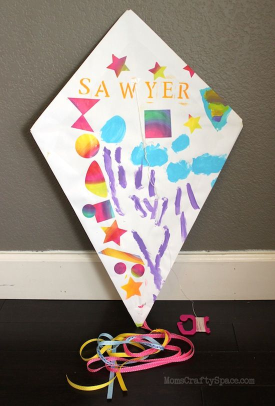 17 best images about kite crafts on pinterest easy for Kite craft for kids