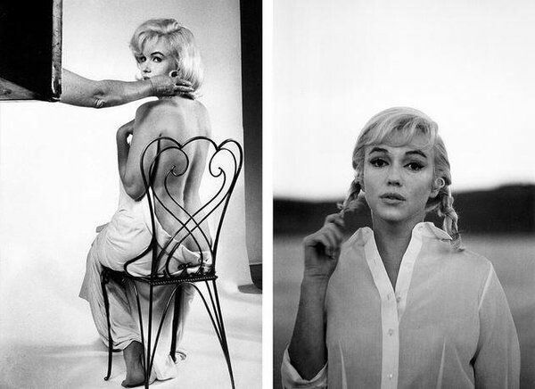 """Marilyn on location for """"The Misfits"""" - 1960"""