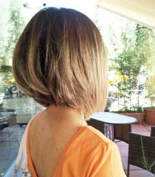 15 Bob hairstyles for fine hair  #hairstyles