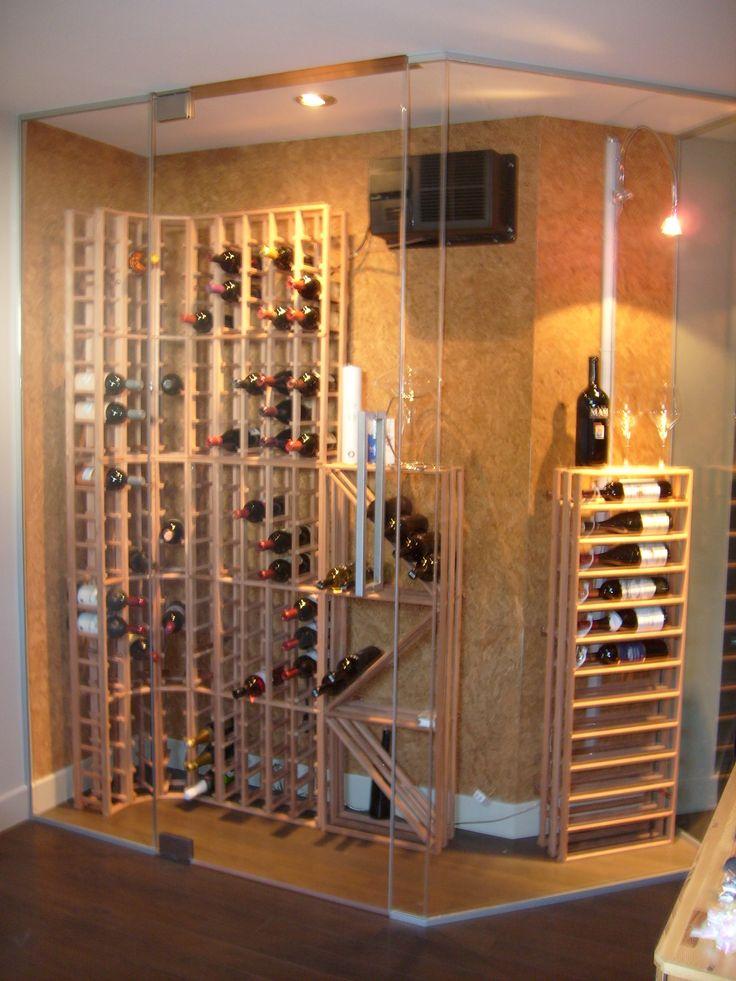 76 best Caves à vin images on Pinterest Wine cellars, Wine glass - comment installer un four encastrable dans un meuble