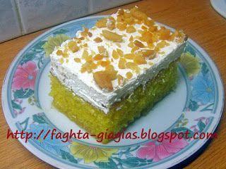 Αφράτο κέικ με σιμιγδάλι