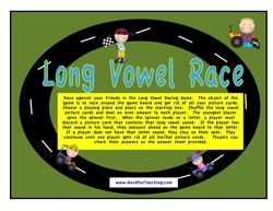 Long Vowels Activity - Have Fun Teaching