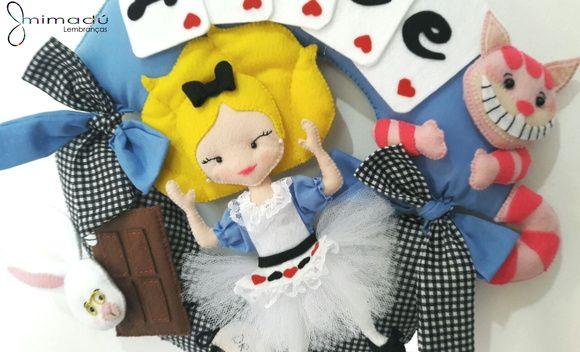 Guirlanda Alice no País das Maravilhas