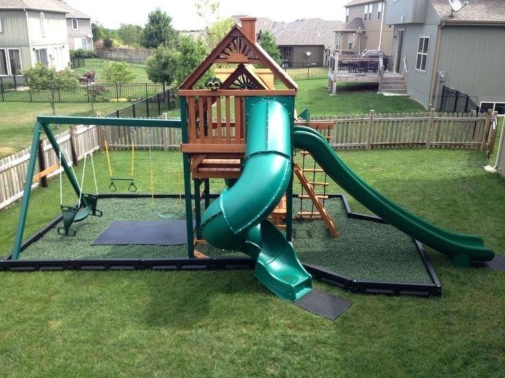 Image result for playset unlevel yard   Backyard ... on Unlevel Backyard Ideas id=69174