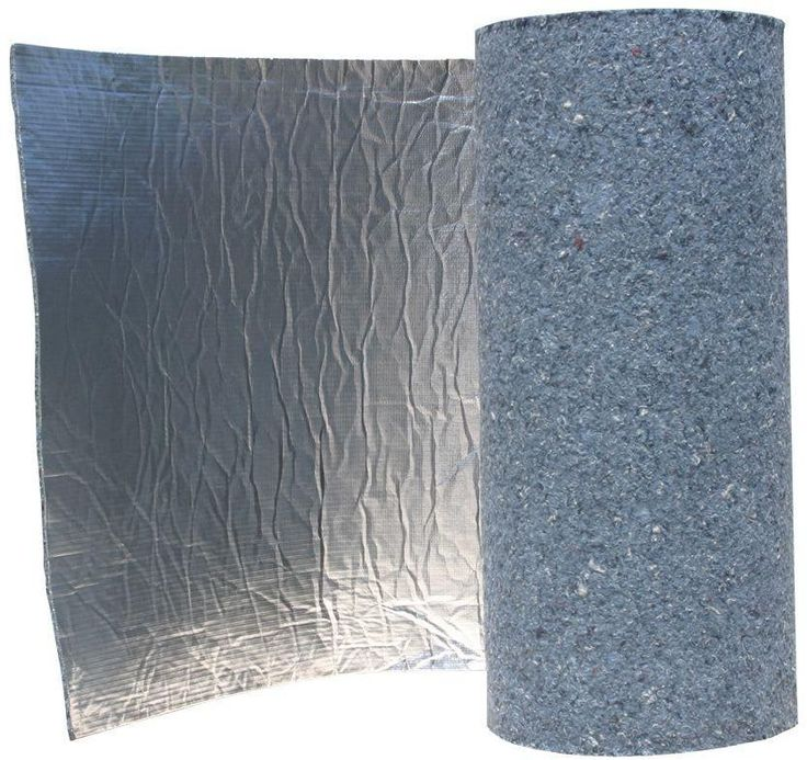 Natural Thermal Acoustic Radiant Barrier Blanket Insulation Roll 48 In X 24 Ft. #UltraTouch