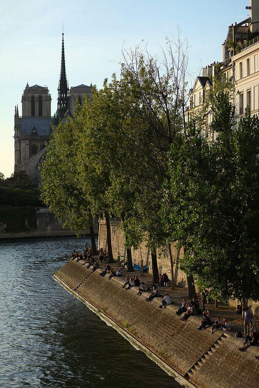 ile saint louis . paris