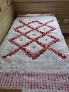 ✿ڿڰۣ(̆̃̃• Colcha de Crochê Quadrada com Flores -  / ✿ڿڰۣ(̆̃̃• Bedspread Crocheting Square with Flowers -