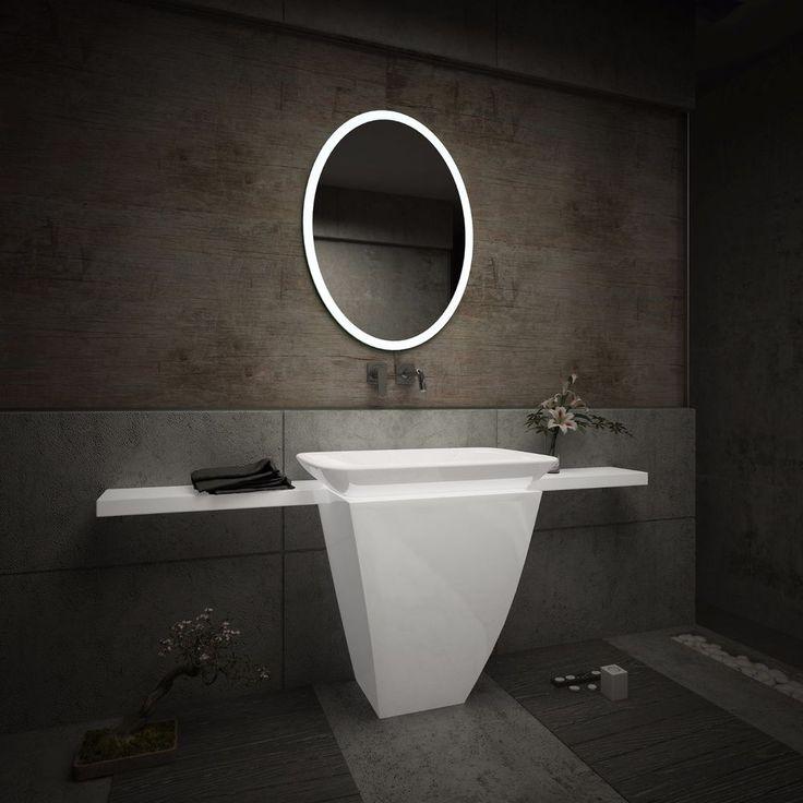 Die besten 25+ Badspiegel mit led beleuchtung Ideen auf Pinterest - badezimmerspiegel nach mass